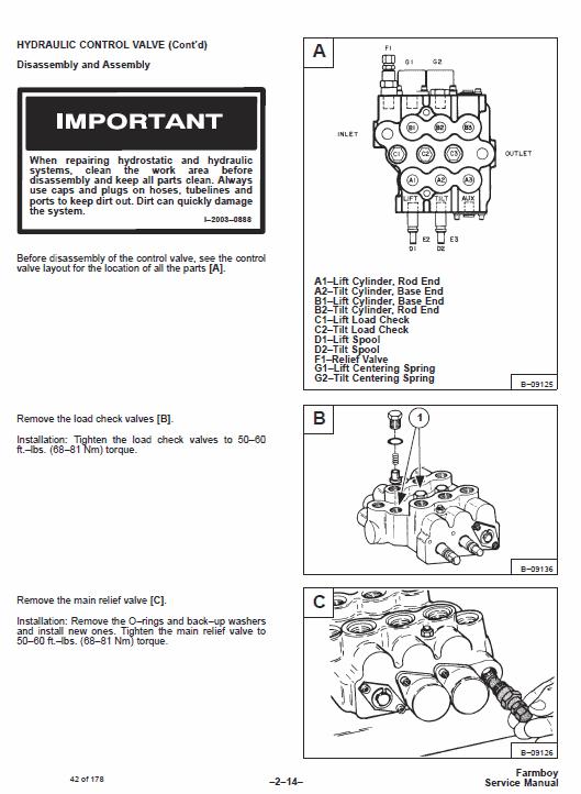 Bobcat 440B Skid-Steer Loader Service Manual