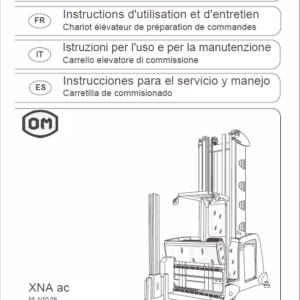 OM Pimespo XNA ac – Generation 1.2 80v Side Loader Workshop Repair Manual
