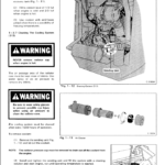 Bobcat 310 and 313 Skidsteer Loader Service Manual