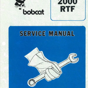 Bobcat 2000 loader manual