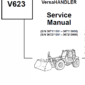 Bobcat V623 VersaHANDLER Telescopic Schematics, Operating and Service Manual