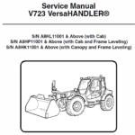 Bobcat V723 VersaHANDLER Telescopic Service Manual