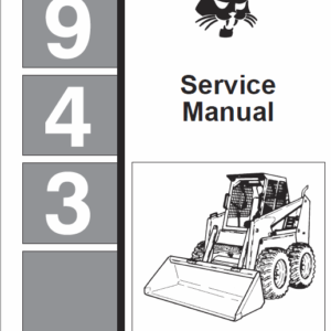 Bobcat 943 Skid-Steer Loader Service Manual