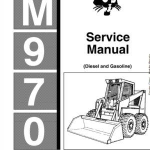 Bobcat M970 Loader Service Manual