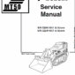 Bobcat MT50 Mini Loader Service Manual