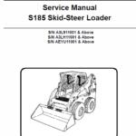Bobcat S185 Skid-Steer Loader Service Manual