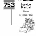 Bobcat 753 G-Series Skid-Steer Loader Service Manual