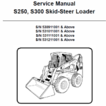 Manual for Bobcat S250 and S300 Skid-Steer Loader