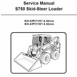 Bobcat S750 Skid-Steer Loader Service Manual