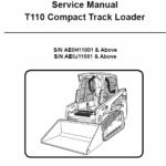 Bobcat T110 Compact Loader Service Manual