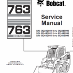 Bobcat 763 and 763HF Skid-Steer Loader Service Manual