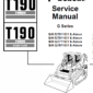Bobcat T190 Turbo and Turbo High Flow Track Loader Service Manual