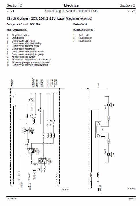 JCB 2CX, 2DX, 210, 212 & VARIANTS Backhoe Loader Service Manual