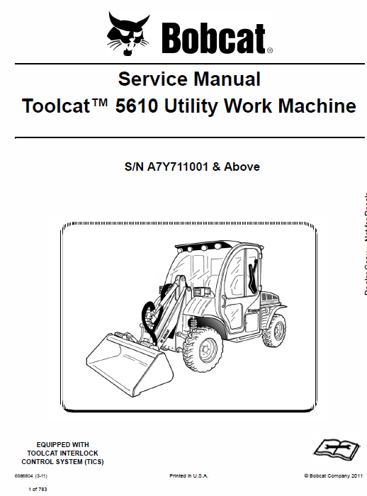 Bobcat 5610 Toolcat Utility Vehicle Schematics Operating And Service Manual: Bobcat 5610 Joystick Wire Diagram At Johnprice.co