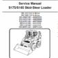 Bobcat S175 and S185 Skid-Steer Loader Service Manual