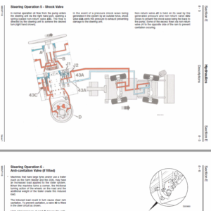 JCB 2CX, 2DX, 210, 212 & VARIANTS Backhoe Loader Service Manual