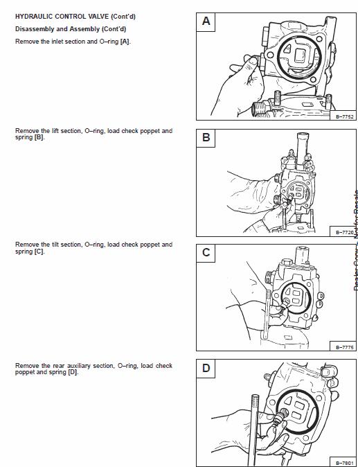 Bobcat 953 Skid-Steer Loader Service Manual