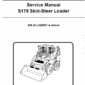 Bobcat S175 Skid-Steer Loader Schematics, Operating and Service Manual