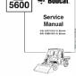 Bobcat 5600 Toolcat Utility Vehicle Schematics, Operating and Service Manual