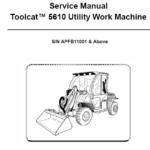 Bobcat 5610 Toolcat Utility Vehicle Service Manual