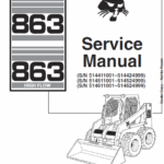 Bobcat 863 and 863H Skid-Steer Loader Service Manual