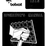 Bobcat 1213 Skid-Steer Loader Service Manual