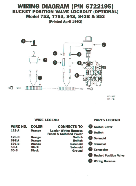 Bobcat 7753 Wiring Diagram - Wiring Diagrams Dock