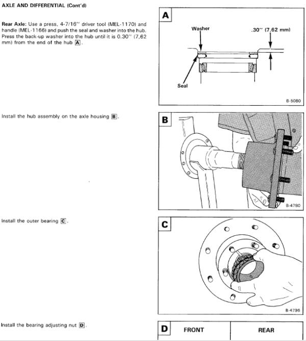Bobcat 1600 Loader Service Manual