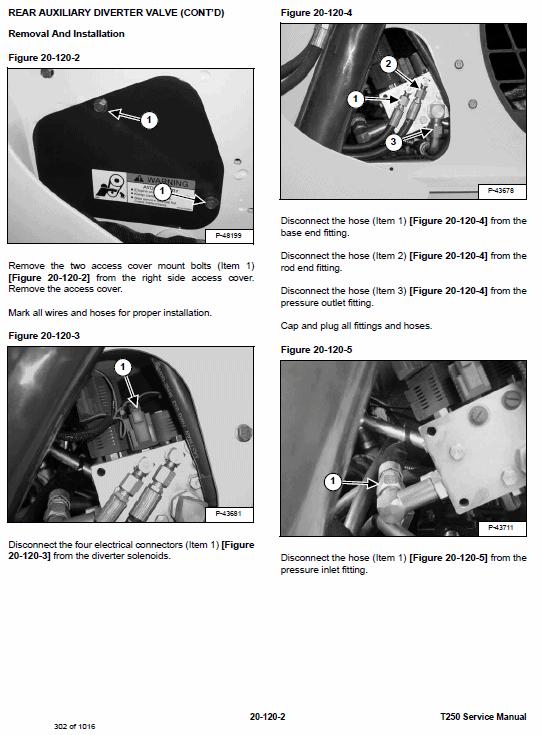 Bobcat T250 Loader Service Manual