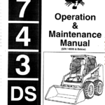 Bobcat 741, 742 and 743 Skid-Steer Loader Service Manual