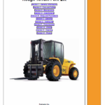 JCB 926 930 940, B RTFL Rough Terrain Fork Lift Service Manual