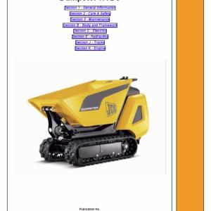Jcb Htd5 Dumpster Service Manual
