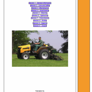 JCB 331, 335 HST Tractor Service Manual