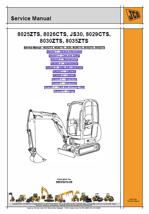 JCB 8025ZTS, 8026CTS, JS30, 8029CTS Mini Excavator Service Manual on jcb 214 starter wiring diagram, ford 3000 tractor wiring diagram, jcb 210s fuel diagram,