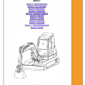 JCB 8061 Mini Excavator Service Manual