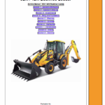 JCB 3DX, 4DX India Backhoe Loader Service Manual