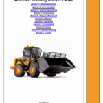 JCB 434S Wheeled Loader Shovel Service Manual