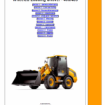 JCB 406, 409 Wheeled Loader Shovel Tier 2/3 Deutz Service Manual