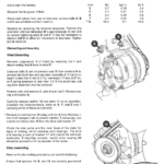 JCB 2CX Backhoe Loader Service Manual