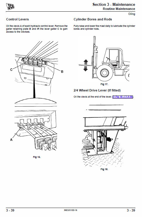 fork lift service manual  2