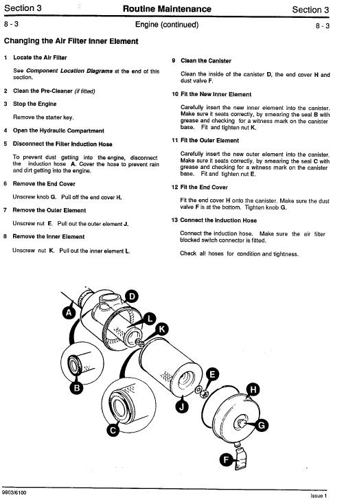 Jcb Js110, Js130, Js150lc Tracked Excavator Service Manual
