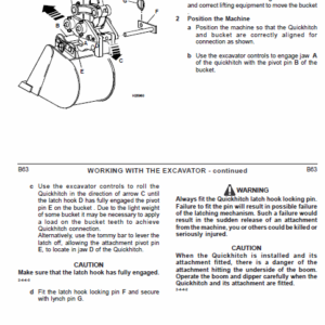 JCB 802-7, 803, 804 Plus & Super Mini Excavator Service Manual