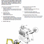 JCB 8052, 8060 Mini Excavator Service Manual