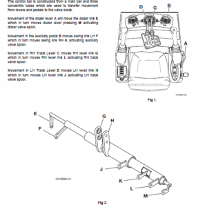 JCB 8014, 8016, 8018, 8020 Mini Excavator Service Manual
