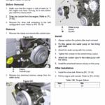 JCB 3CX Compact Backhoe Loader Service Manual
