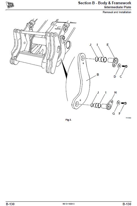 JCB 427, 437, 457 T4i Wheeled Loader Shovel Service Manual
