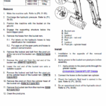 JCB 55Z-1, 57C-1 Mini Digger Excavator Service Manual