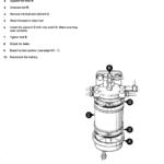 JCB 801 Tracked Excavator Service Manual