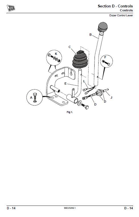 JCB 8056 Mini Crawler Excavator Service Manual