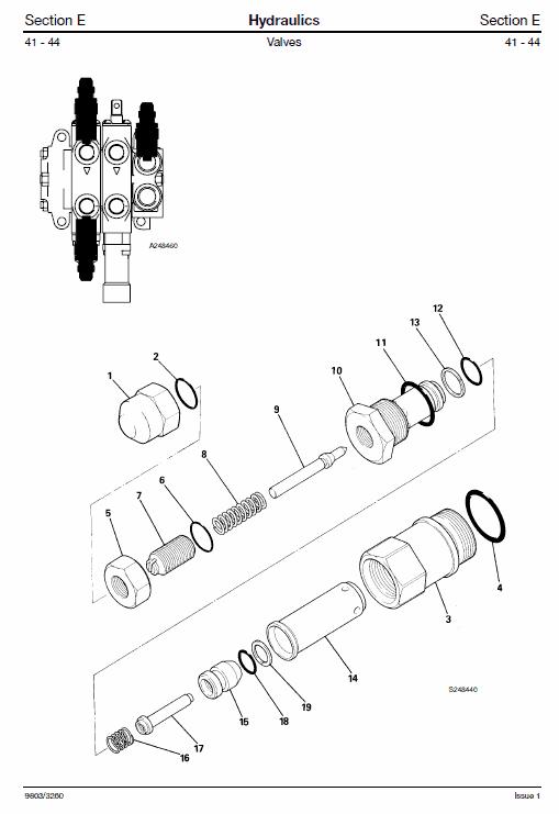 doosan hydraulic schematic